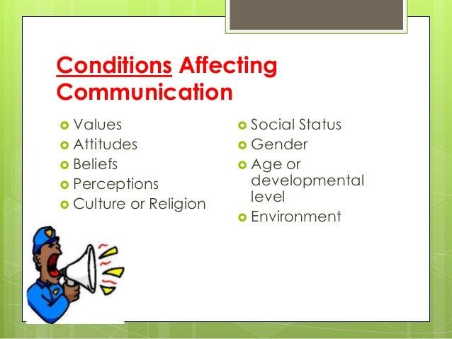 Non therapeutic communication