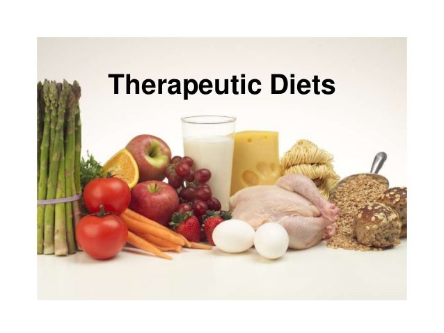 Therapeutic diets by dt seema kashyap