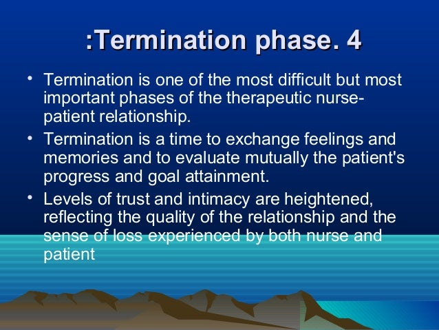 nurse patient relationship Practice tandard 3 colleg urse ntari practice standard: therapeutic nurse-client relationship, revised 2006 nursing standards are expectations that contribute to public protection they inform nurses of their accountabilities and the public of what to expect of.