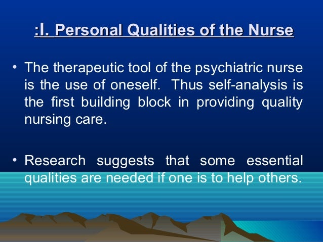 therapeutic relationship nursing essay Abstract communication is one of the essential factors to maintain a good quality of life because it allows humans to interact and provide comfort in hospitals, the importance of communication becomes even more evident therapeutic nurse- patient communication helps nurses to build positive relationships with patients by.