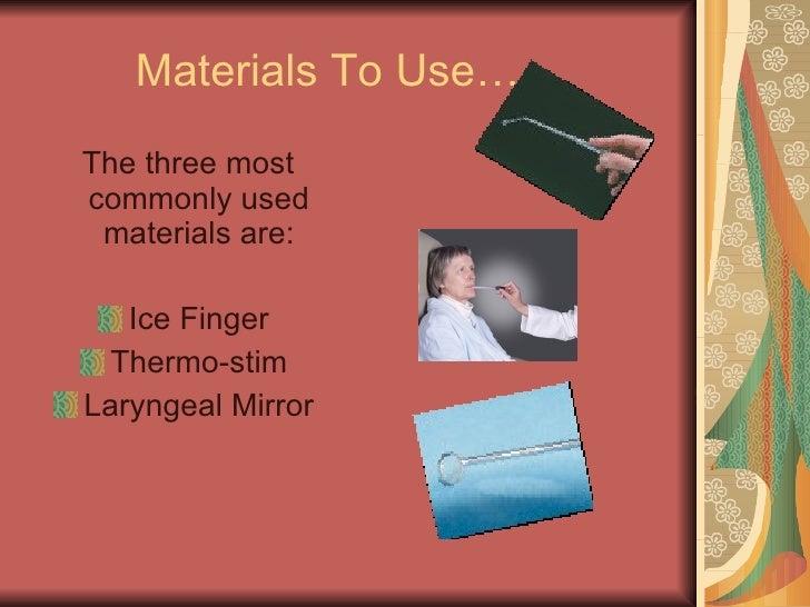 Procedures Esther Goldstein