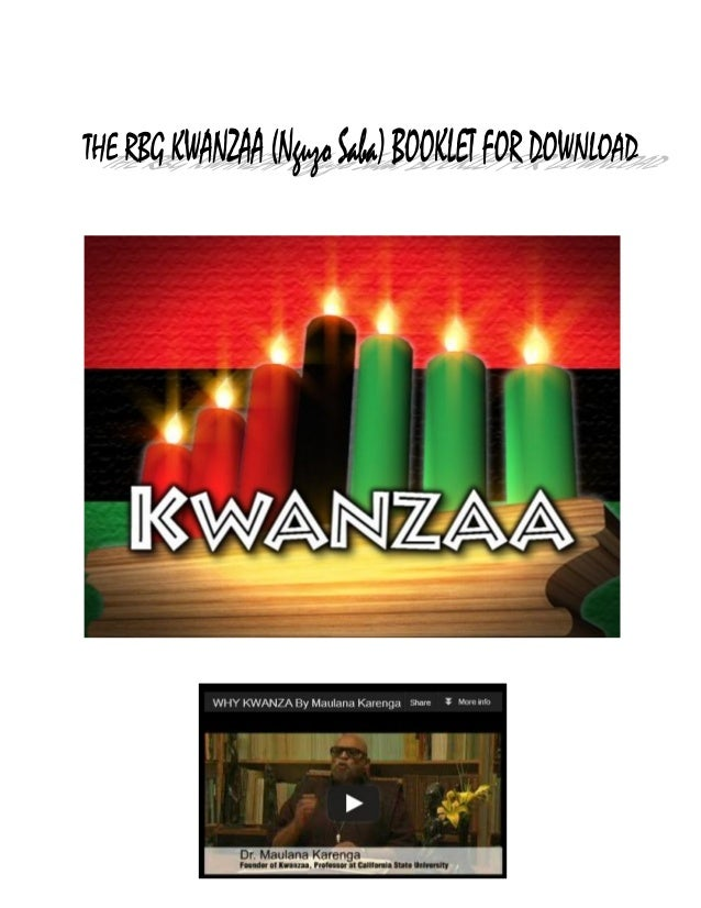 HistoryKWANZAA, the African-American cultural holiday conceived and developed by Dr. MaulanaRon Karenga, was first celebra...