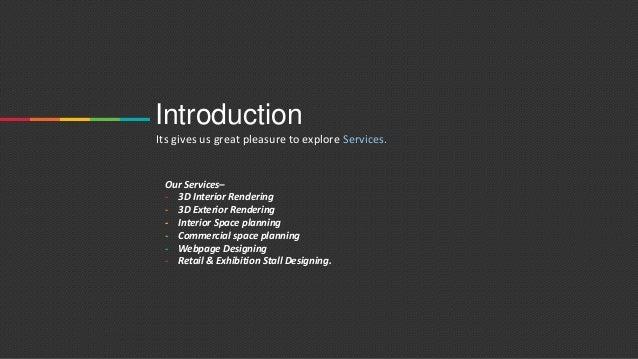 The r design studio portfolio for Introduction of interior design company