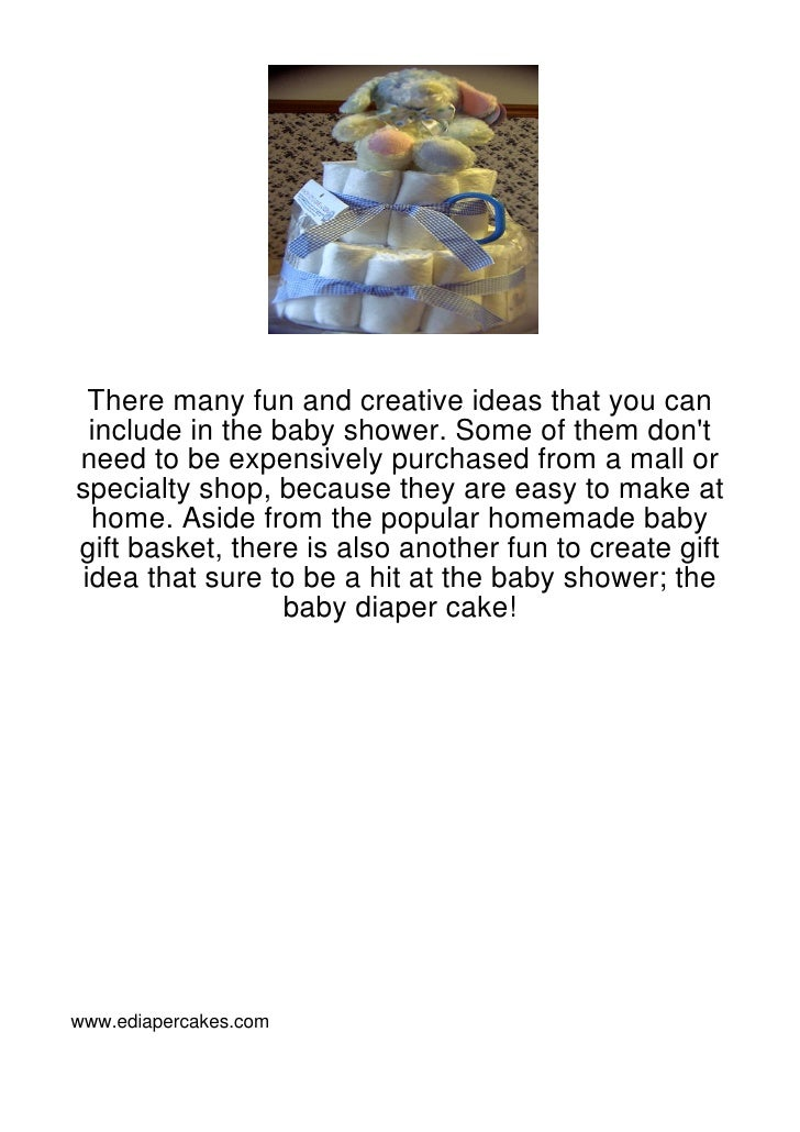 There many fun and creative ideas that you can include in the baby shower. Some of them dontneed to be expensively purchas...