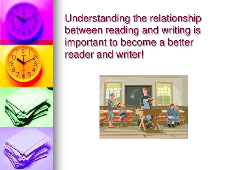 essay about relationship between reading and writing The purpose of language learning is to improve the speakers' four skills of listening, speaking, reading and writing  reading and writing essay relationship.