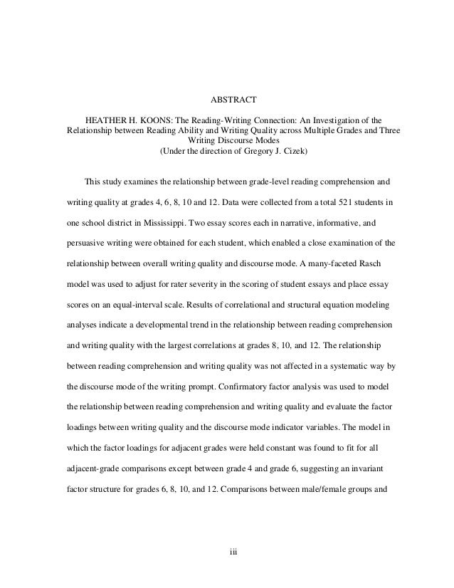 research paper about ell reading writing connection Esl students usually need to learn to write in the second language   paragraphs work together to support a thesis or purpose statement.