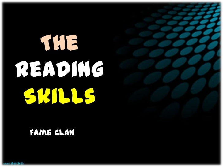 TheReading Skills Fame clan