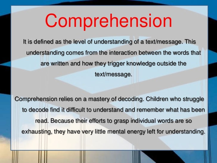 reading skill Why reading comprehension skills are particularly important for ells ell students will still need a lot of vocabulary development and teaching of comprehension.