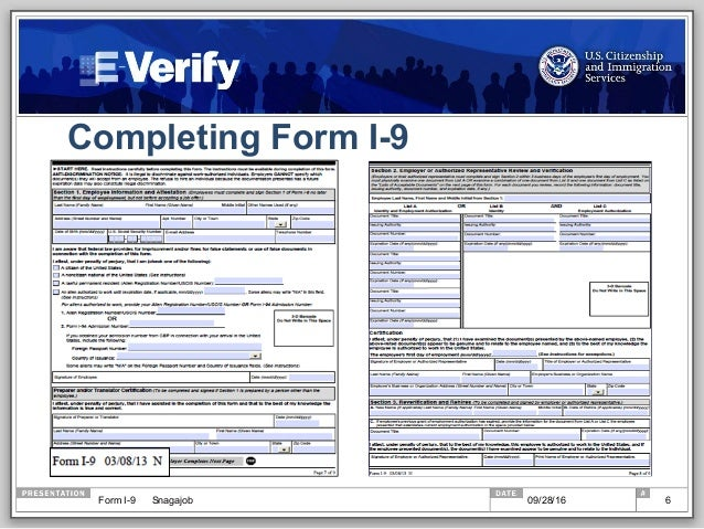 The Real Deal on Form I-9: Breaking Down Proposed Changes, I-9 Myths …