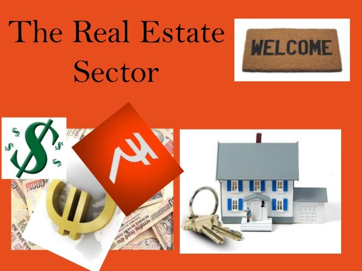 The real estate sector essay