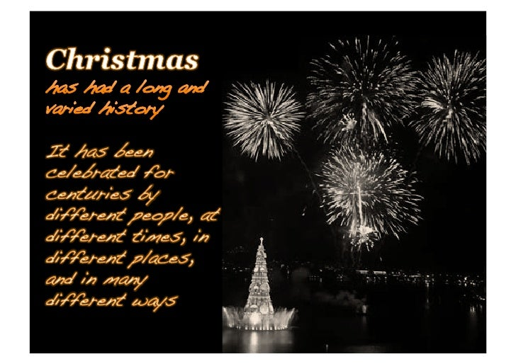 Real History Of Christmas.The Real History Of Christmas