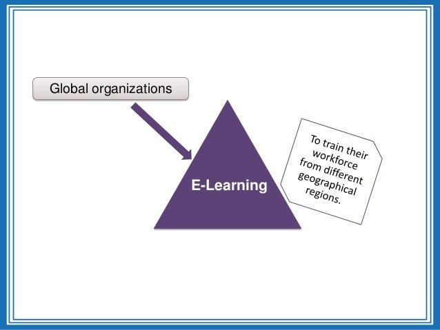 Global organizationseLearningE-Learning