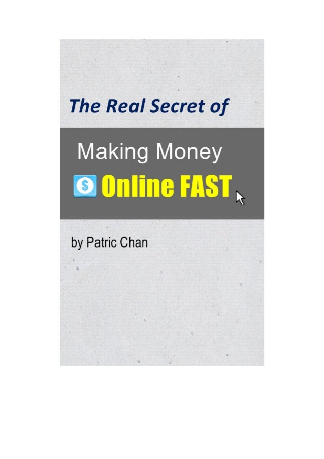 CHAPTER 1: HOW TO MAKE MONEY ONLINE One of the biggest questions that my customers and students never fail to ask me would...