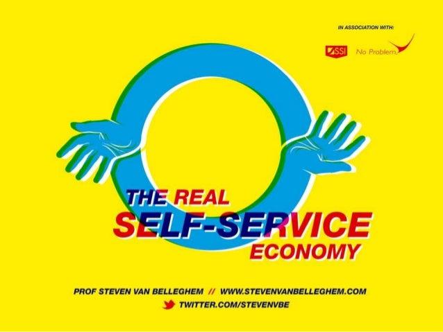 The Self Service Economy