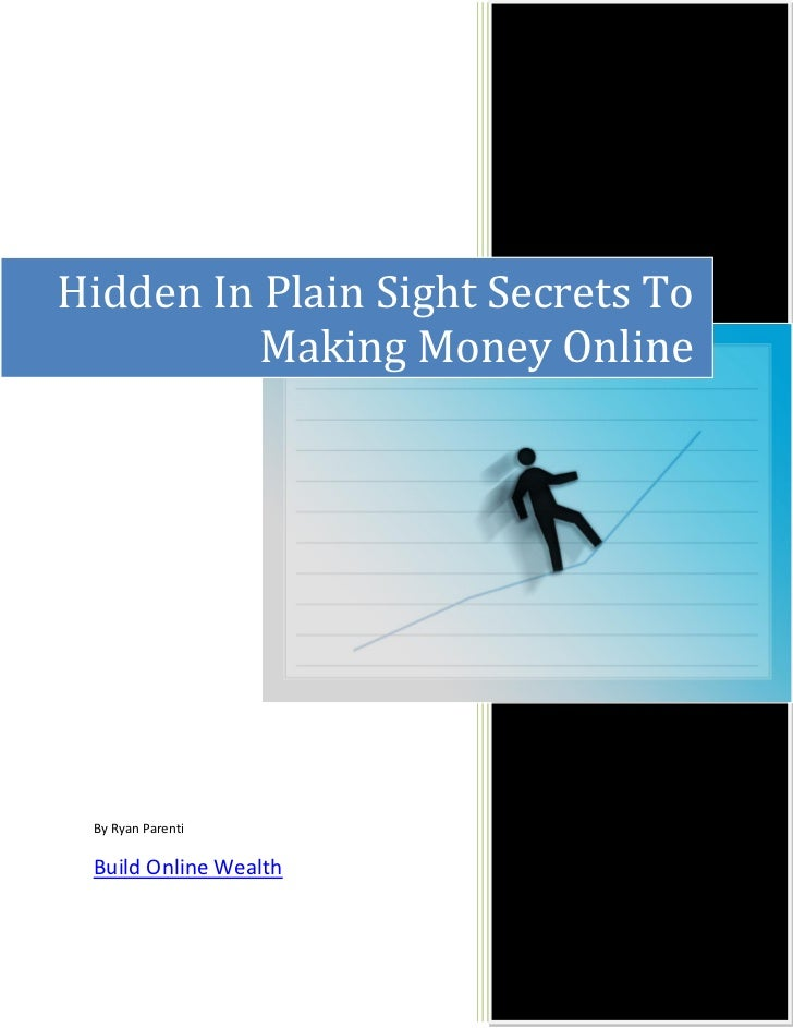 The Real Way To Make Money Online pdf report