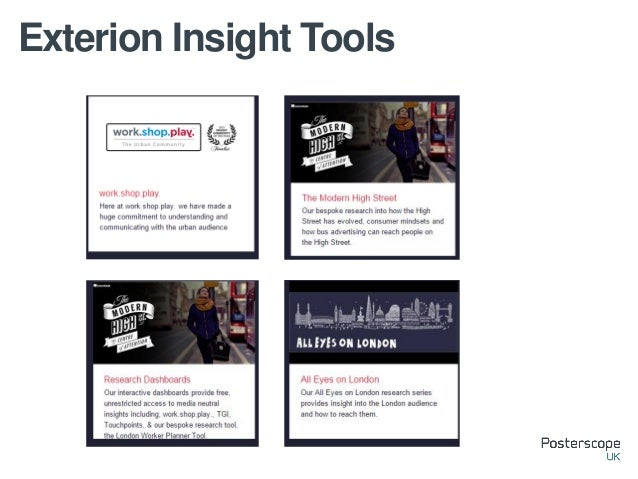 Exterion Insight Tools