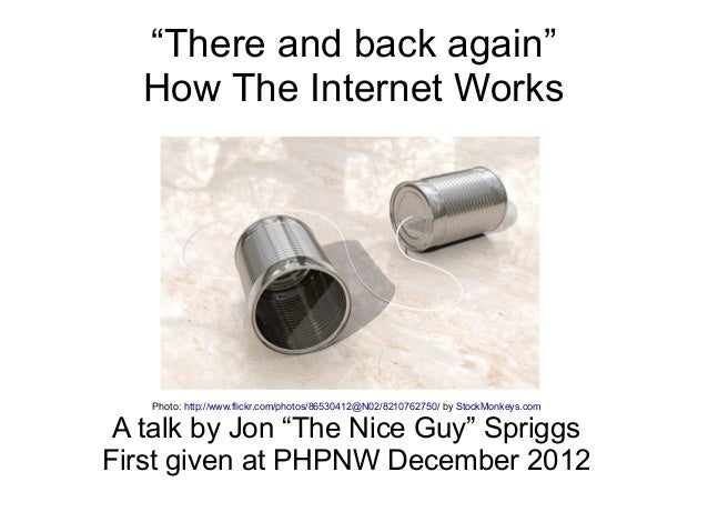"""There and back again""   How The Internet Works   Photo: http://www.flickr.com/photos/86530412@N02/8210762750/ by StockMon..."