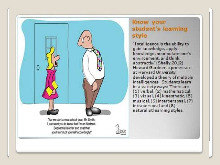there are different learning styles visual learners