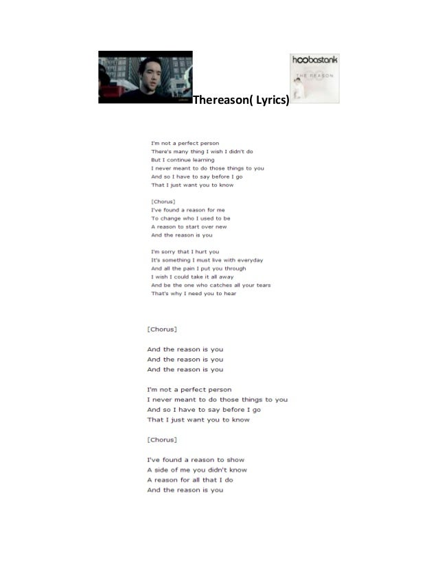 Not a perfect person lyrics