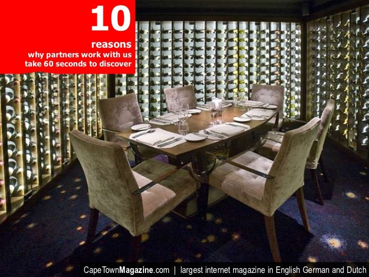 10                reasons why partners work with ustake 60 seconds to discover              CapeTownMagazine.com | largest...
