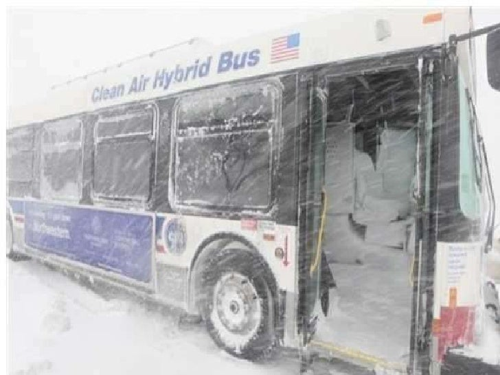 The recent Blizzards in America<br />
