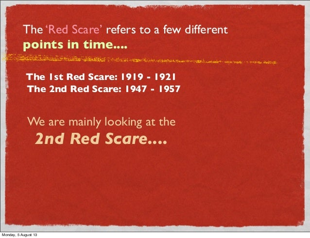 the red scare Definition of red scare in the audioenglishorg dictionary meaning of red scare what does red scare mean proper usage and pronunciation (in phonetic transcription) of the word red scare.
