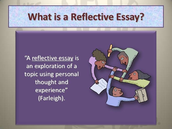 english semester reflection essay