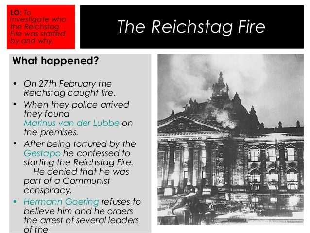 Image result for reichstag fire and enabling act