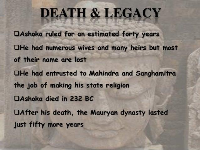 ashoka history in english