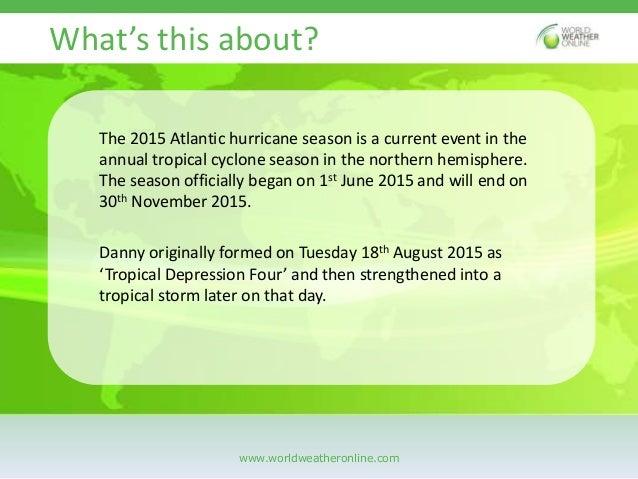 The reign of hurricane danny Slide 2