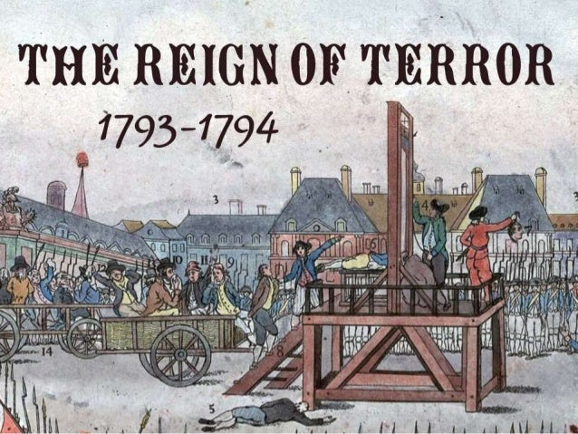 The Reign of Terror (French Revolution 1793-1794)