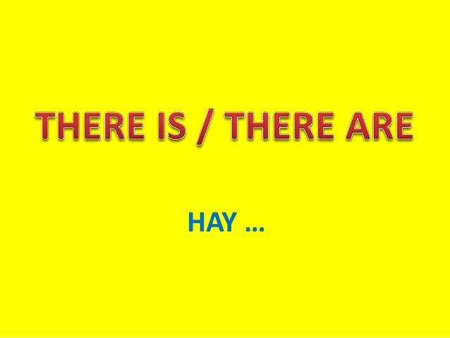 HAY …
