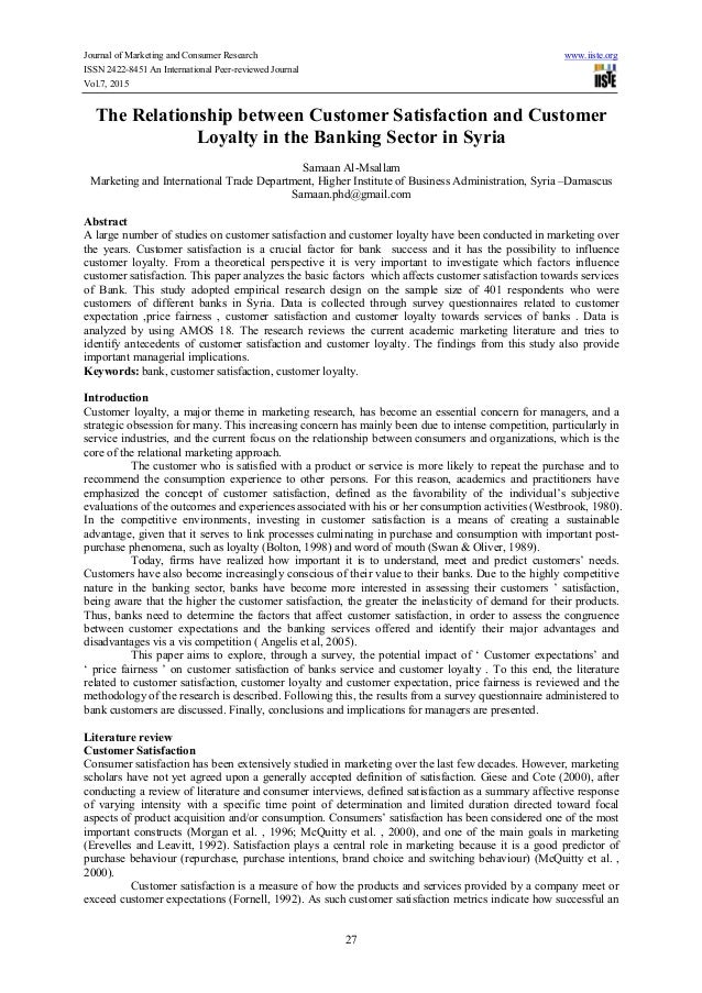 customer loyalty journal pdf