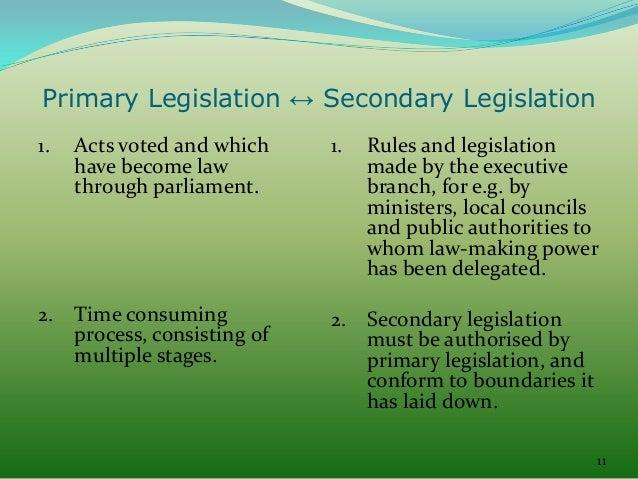 14 Advantages and Disadvantages of Delegated Legislation