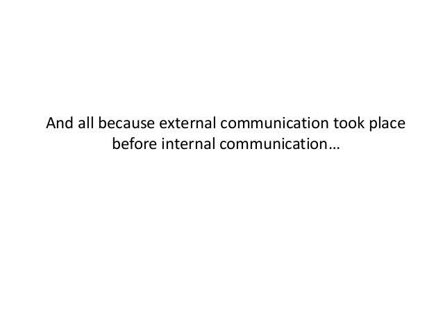 Using Social Media for Internal Communications