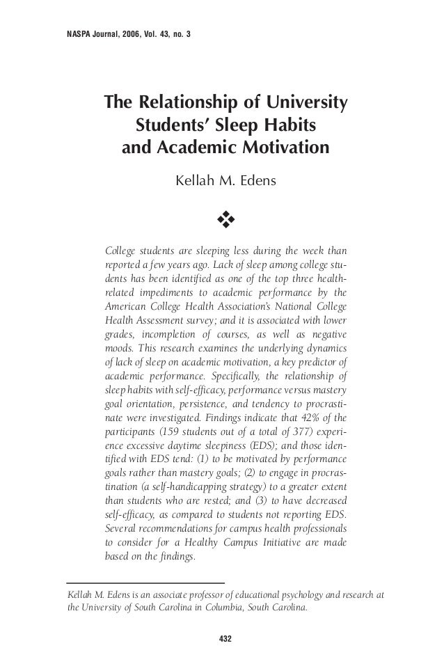 the sleeping habits among university student When students lose sleep sleeping habits and sleep deprivation among college students is a research project about sleep deprivation university of arizona.