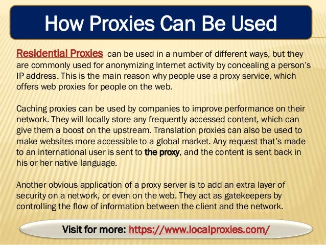 The Reliable Residential Proxy Service For Best Secure ...