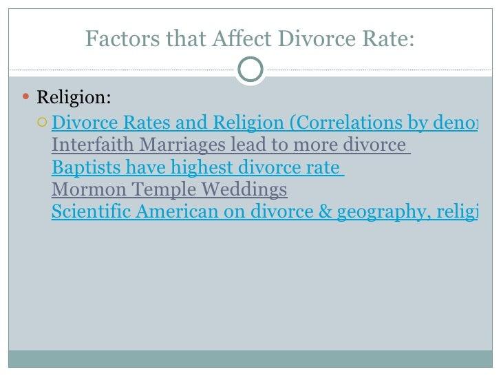 The Religious Attitudes Towards Divorce