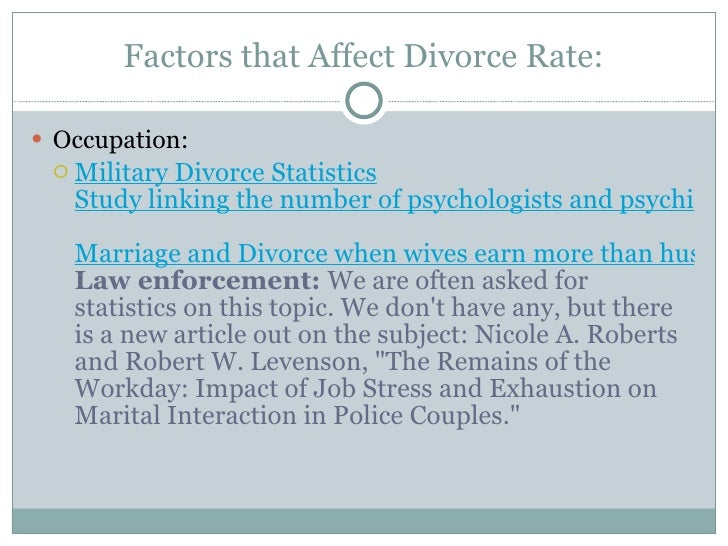 cop divorce rate
