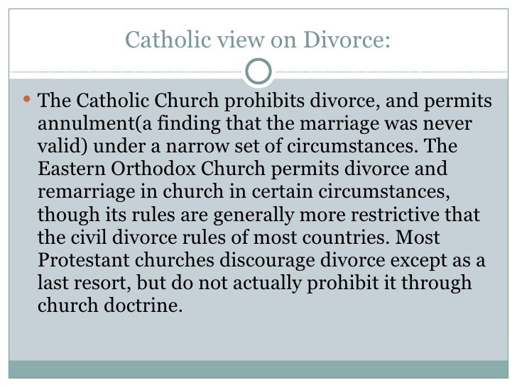 catholic annulment dating The questions around divorce, annulment and remarriage in the catholic church are huge issues for nearly all of us obviously, there are many, many people who are back in the dating world after having been married.