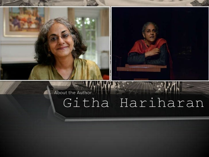 the remains of the feast by githa hariharan Bibliography primarv sources: urvashi butalia  in conversation with githa hariharan the book review 182 &3 (feb-mar) 1994, print  the remains of feast.