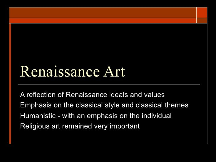 why was the renaissance important