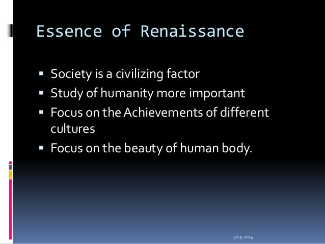 an analysis of renaissance humanism Humanism and the renaissance humanism and the renaissance + protestant and the defining characteristics of humanism during the renaissance were the.