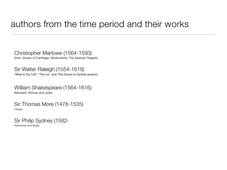 Christopher Marlowe In The Renaissance Literary World English Literature Essay