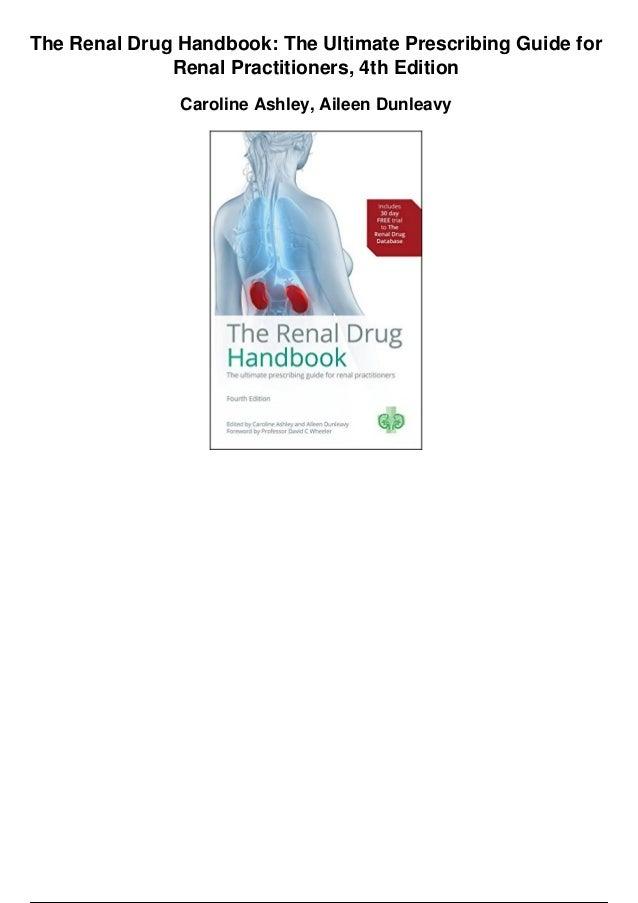 Renal Drug Handbook 4th Edition Pdf