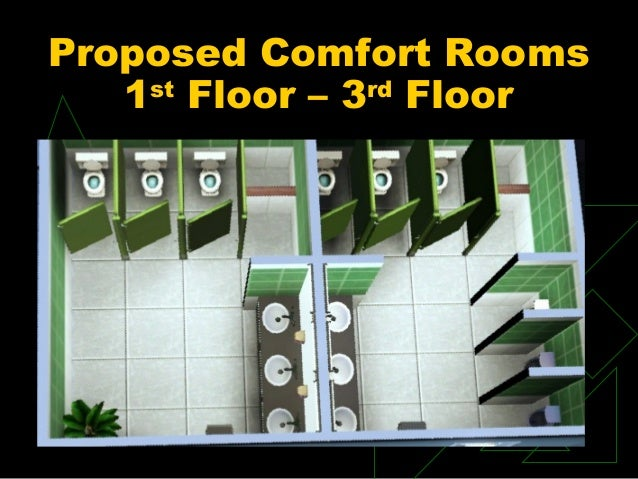Proposed Comfort Rooms 1st Floor U2013 3rd Floor ... Part 38