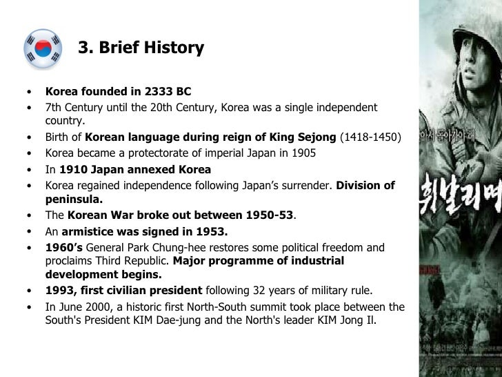 10 fun facts about south korea Facts and history of south korea since the end of world war ii the nation transitioned to democracy and a robust tiger economy with prosperity.