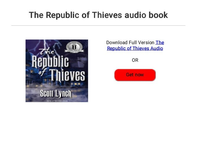 The Republic Of Thieves Audio Book