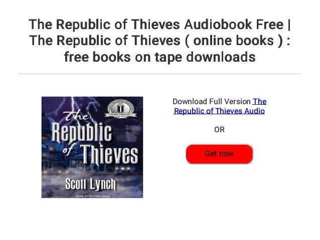 The Republic Of Thieves Audiobook Free