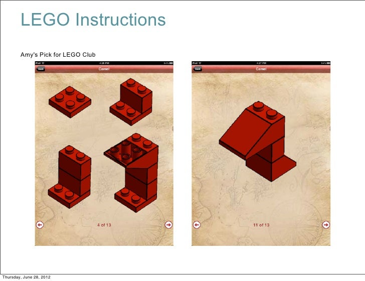 Lego Instructions Amys Pick For